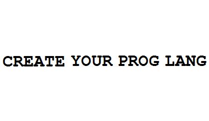 Create Your Prog Lang Coupon