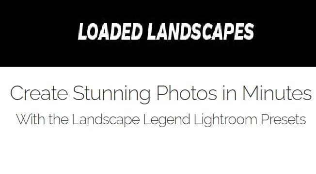 Landscape Legend Presets Coupon Codes